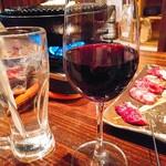 けとばし屋チャンピオン - 2杯目は赤ワインと水