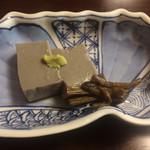 和仲荘 - ごま豆腐
