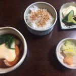 和仲荘 - 山かけ豆腐