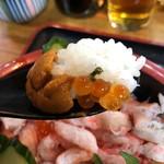 和泉 - ウニ&イクラW食い〜