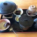 どじょう亭 - 料理写真:どじょう鍋御膳味噌味1300円