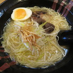 奥三河製麺 - 熊骨ラーメン1,200円