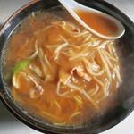武洲園 - 料理写真:豆芽湯麺