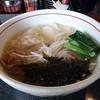麺乃家 - 料理写真:海老塩ワンタン麺