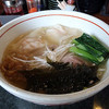 Mennoya - 料理写真:海老塩ワンタン麺