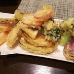 ふく花 - 季節野菜の天ぷら