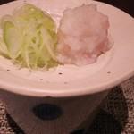 ふく花 - 葱&辛味大根
