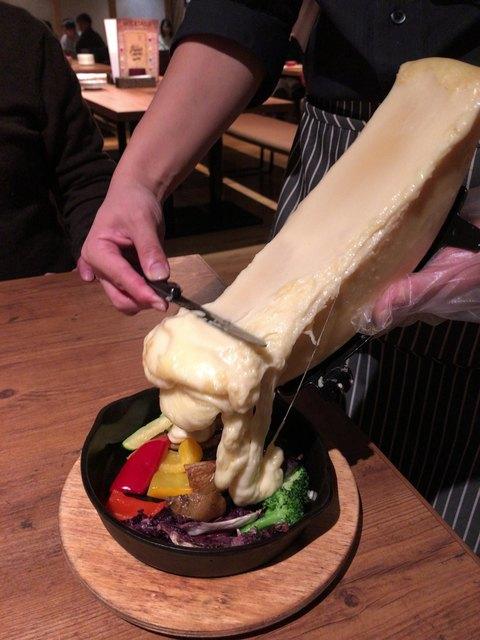 CHEESE SQUARE AVANTI 新宿店 - グリル野菜のラクレット