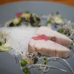 キエチュード - 魚料理(サワラ・ベーコン・キャベツ)