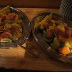 スパニッシュ レストラン チャバダ - フルーツ盛り