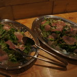 スパニッシュ レストラン チャバダ - 生ハムのサラダ