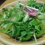 旬彩 - 飲み放題付き黒毛和牛サーロインコース7,560円から旬彩サラダ