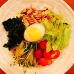 照麺 - 冷やし麺(醤油味):780円