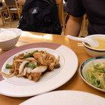 楼蘭 - 豚フィレ肉の黒酢スブタ