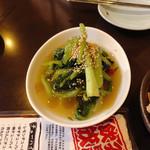 韓国家庭料理 唐辛子 - 青菜キムチ