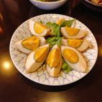 韓国家庭料理 唐辛子 - 肉巻卵