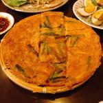 韓国家庭料理 唐辛子 - チヂミ