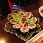 韓国家庭料理 唐辛子 - キンパ