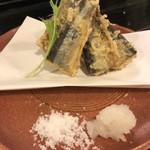 布施酒場かい - 秋刀魚天ぷら
