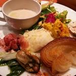 オーガニック食堂 Engi - おまかせワンプレート 1200円