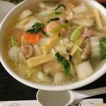 萬壽園 - 料理写真:エビ塩ラーメン