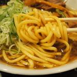 麺舗 十六 - 麺アップ