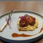 Bistro NOHGA  - 塩漬け豚バラ肉のキャラメリゼ スパイスの香り