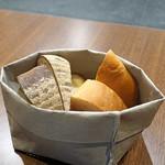 Bistro NOHGA  - 二種のパン