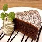 洋食屋 銀座グリルカーディナル - クラッシックショコラ@チョコレートをしっかり感じる蒸し焼きのガトーショコラ