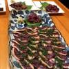 もりき - 料理写真:鴨タタキと刺身の数々