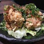 いっぱち  - 若鶏の唐揚げ葱ソース