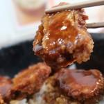 矢場とん - みそヒレカツ丼1200円
