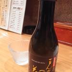 夢やぐら - おすすめ日本酒メニューから、特別純米のまんさくの花一合小瓶650円