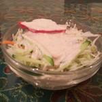 97285547 - 野菜サラダも付いてます。