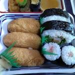 一力屋 - ネギトロ巻き・いなり寿司・サラダ巻き
