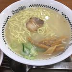 スガキヤ - ラーメン大盛(麺硬め) 420円