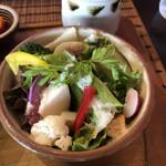 三日月食堂 - 三日月サラダ
