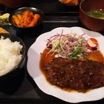 むちゃく - 牛サガリ炭焼定食  950円