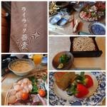 ライラック蕎麦 - 料理写真: