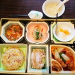 チャイニーズレストラン 翠華 - 料理写真:レディースセット 935円+税