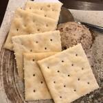 酒とひもの 人情酒場 - イチジクのクリームチーズ