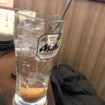 酒とひもの 人情酒場 - 梅干しサワーは濃さも梅干し自体も正解っ!