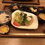 Mamezo&Cafe  - けやき膳(豆の玄米ご飯)