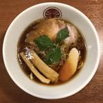 97290620 - 鶏醤油らぁ麺 850円