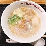 とんこつらぁ麺-CHABUTON-  -