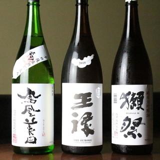 栃木県誇りの地酒◎全国から集めた充実の日本酒を今宵の一杯に