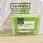 抹茶共和国 - 抹茶インク バブル抹茶ラテ 550円