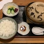 97294963 - 天ぷら味噌煮込みうどん定食