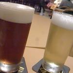 97295284 - 左 アルト  右 瀬谷の小麦ビール
