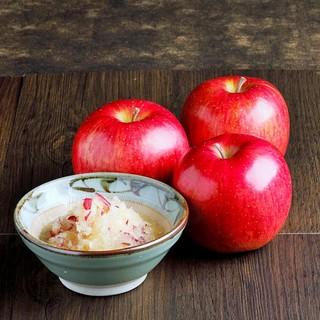 すりおろしリンゴで食べるすき焼き